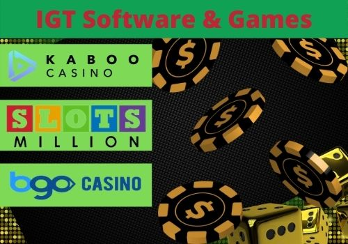 IGT Sofware and Games